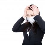 ひだまりケア 頭痛に苦しむ女性